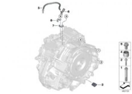 GA8G45X transm.attachment/mounted parts