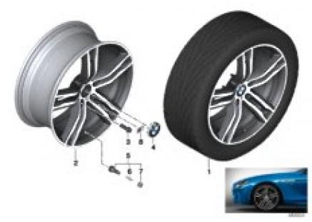BMW LA wheel double spoke 703M - 20