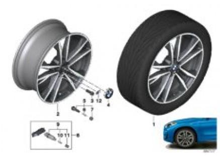 BMW LA wheel M double spoke 715M - 19