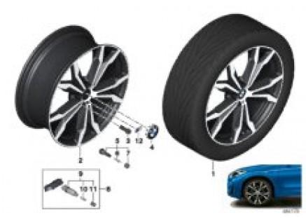 BMW LA wheel M double spoke 716M- 20