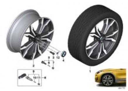 BMW LA wheel M double spoke 717M- 20
