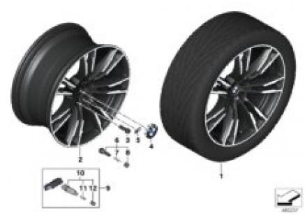 BMW LA wheel M double spoke 706M- 20