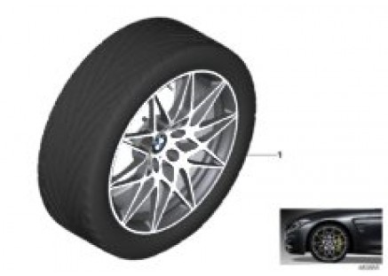 BMW LA wheel M star spoke 666M - 20