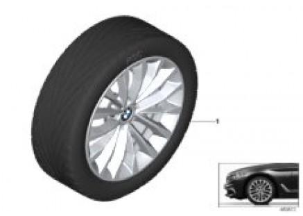 BMW LA wheel W-spoke 632 - 18