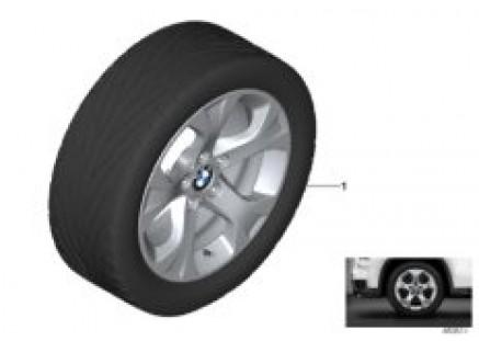 BMW LA wheel star spoke 317 - 17