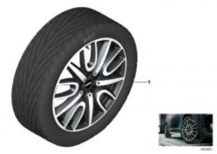 JCW LA wheel Thrill Spoke 529 - 18