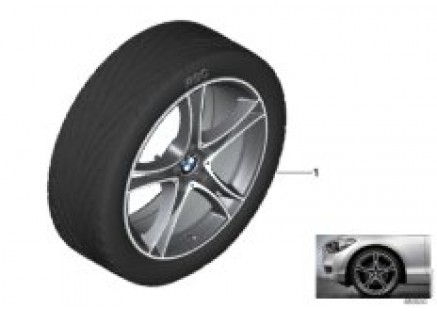 BMW LA wheel double spoke 361 - 19