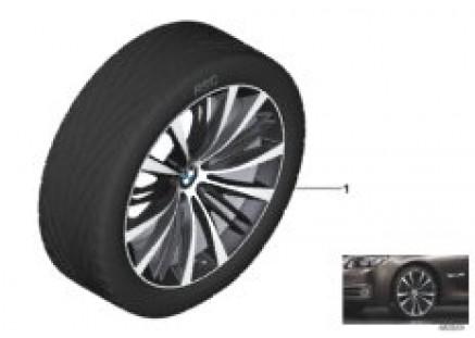 BMW LA wheel V-spoke 463 - 21