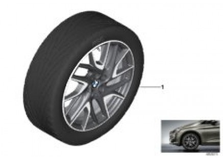 BMW LA wheel Turbine Styling 487 - 19''