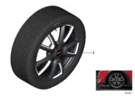 JCW LA wheel double spoke 534 - 18
