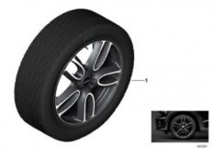 JCW LA wheel Double Spoke R129 - 19