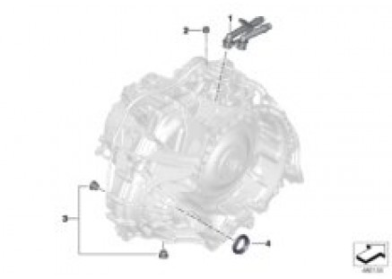Individual transmission parts 7DCT300