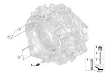Attachment / suspension 7DCT300