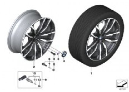 BMW light-all.wh.double spoke 787M - 20