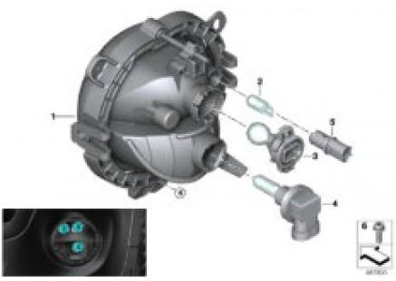 Headlight bumper