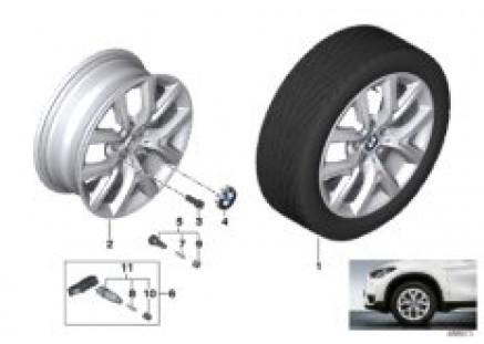 BMW light alloy wheel Y-spoke 574 - 17