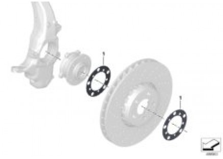 Swivel/wheel bearing front Puma62105224