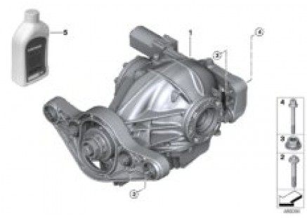 Final drive with differential