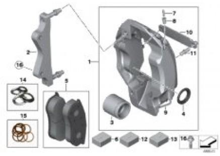 Front brake PFC