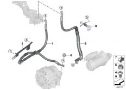 Starter cable / alternator cable