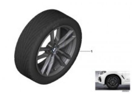 BMW lt.-al.wheel M dbl.spoke 698M - 19