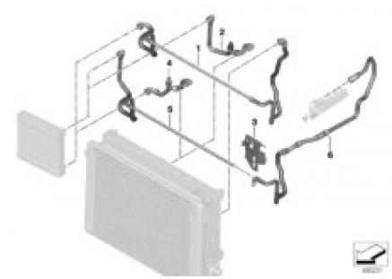 Cooling system-external Radiator