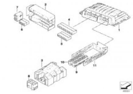 Basic control module DME / MSS60