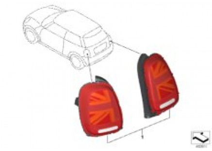 Conversion, taillamps, facelift
