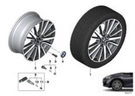 BMW LM wheel M Star-Spoke 512 - 18''