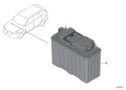 12-V lithium dual storage system