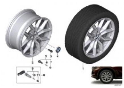 BMW LA wheel V-spoke 734 - 19