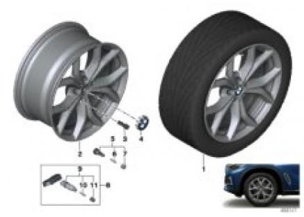 BMW LA wheel V-spoke 735 - 19