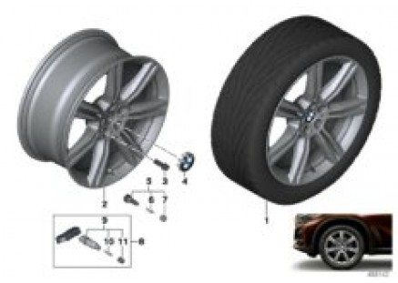 BMW LA wheel star spoke 736 - 20