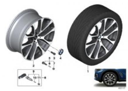 BMW LA wheel V-spoke 738 - 20