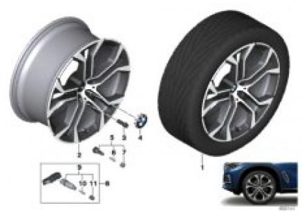 BMW light alloy wheel Y-spoke 744 - 21