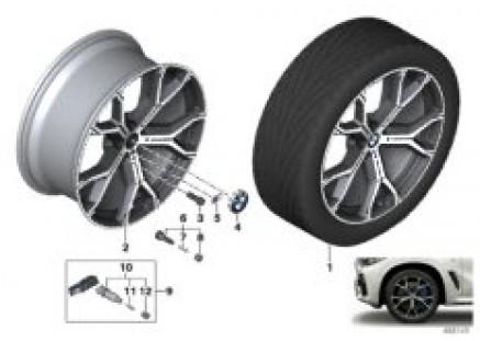 BMW LA wheel Y-spoke 741M - 21