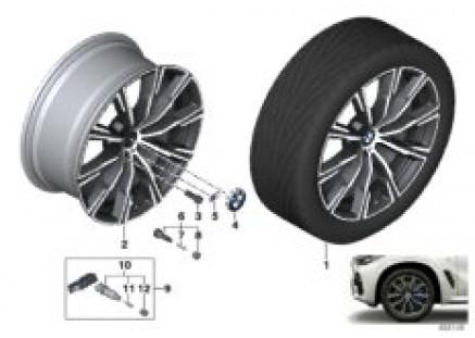 BMW LA wheel star spoke 740M - 20
