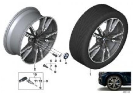 BMW LA wheel V-spoke 747M - 22