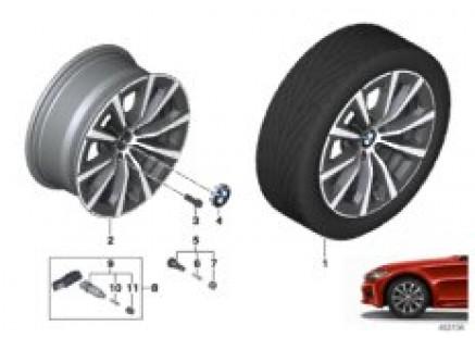 BMW LA wheel V-spoke 775 - 17
