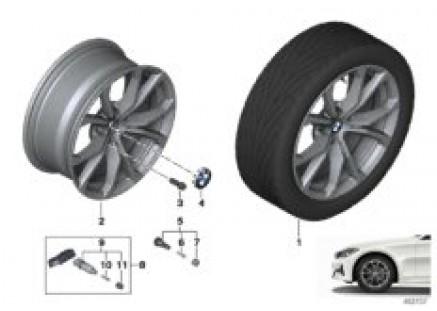 BMW LA wheel V-spoke 776 - 17