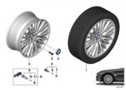 BMW LA wheel double spoke 771 - 17