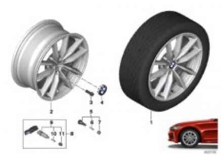 BMW LA wheel V-spoke 778 - 17