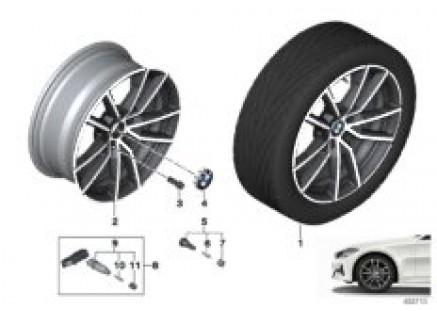 BMW LA wheel V-spoke 780 - 18