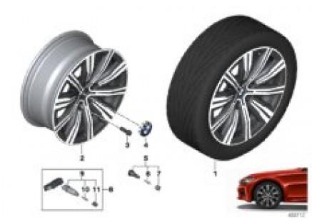 BMW LA wheel double spoke 782 - 18