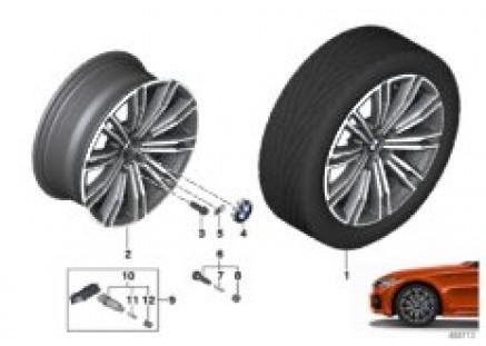 BMW LA wheel double spoke 790M - 18