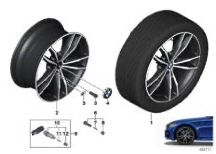 BMW LA wheel double spoke 791M - 19
