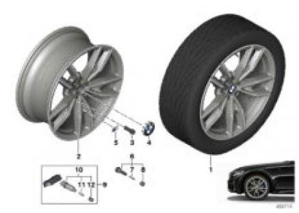 BMW LA wheel double spoke 792M - 19