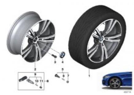BMW LA wheel double spoke 793i - 19