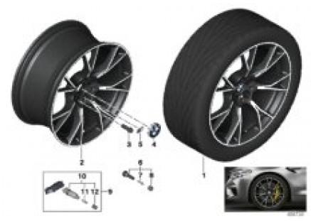 BMW LA wheel Y-spoke 789M - 20