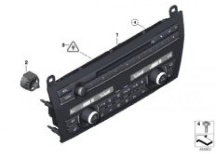 A/C control panel